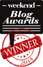 WEEKEND BLOG AWARDS: GEWONNEN!