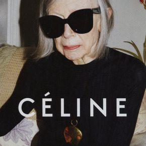 Joan Didion by Juergen Teller for Céline