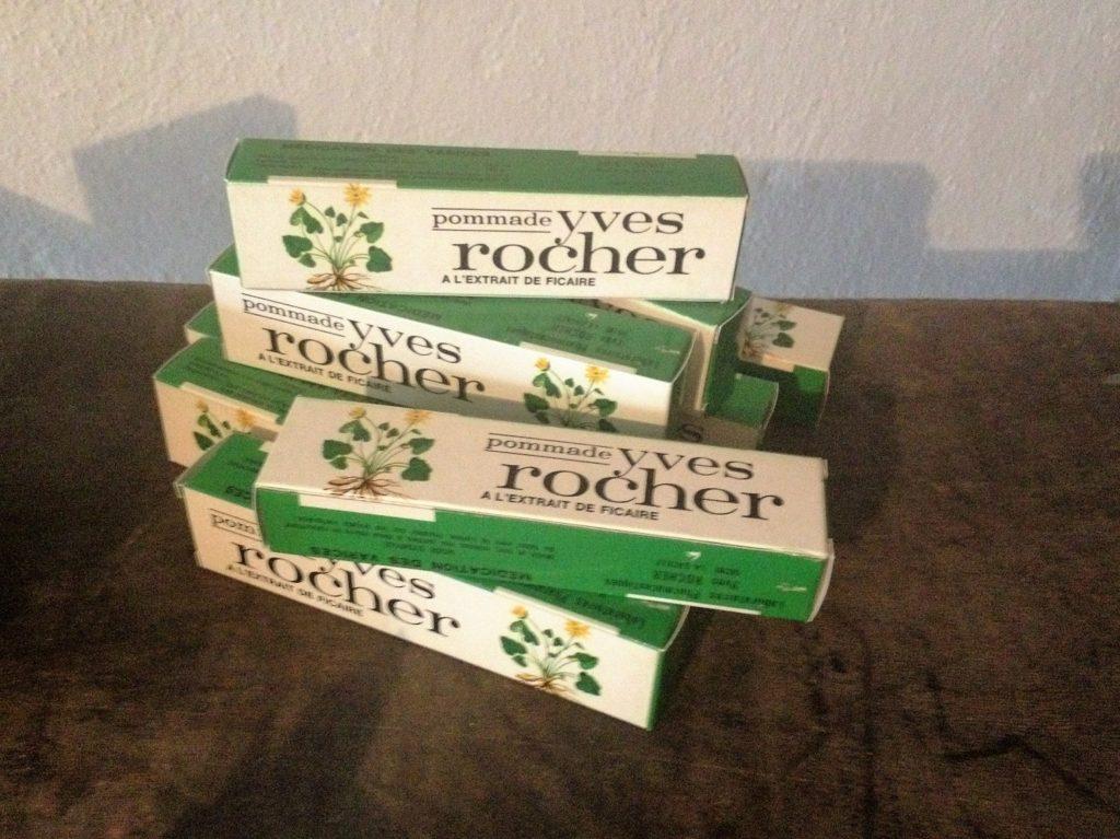 Het eerste product van Yves Rocher: aambeiencrème
